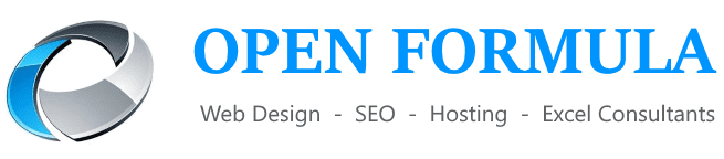 Web Design Derby & Experts SEO Agency | Open Formula Sticky Logo Retina