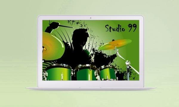 portfolio image of the studio 99 website