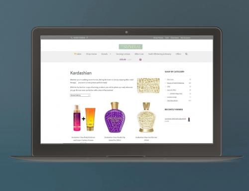 Portfolio: Sundial Online Shop
