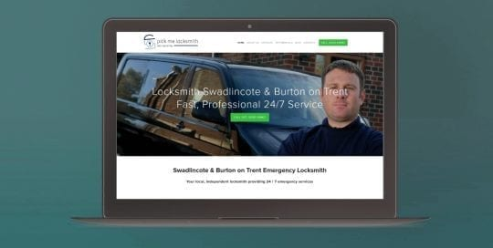 SEO Expert Derby & Burton on Trent - Client Home Page